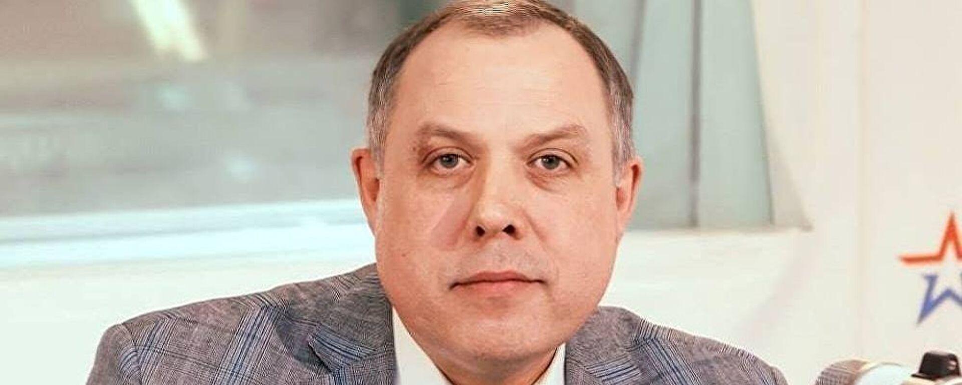 Политолог, руководитель экспертного совета Фонда стратегического развития Игорь Шатров - Sputnik Латвия, 1920, 23.02.2021
