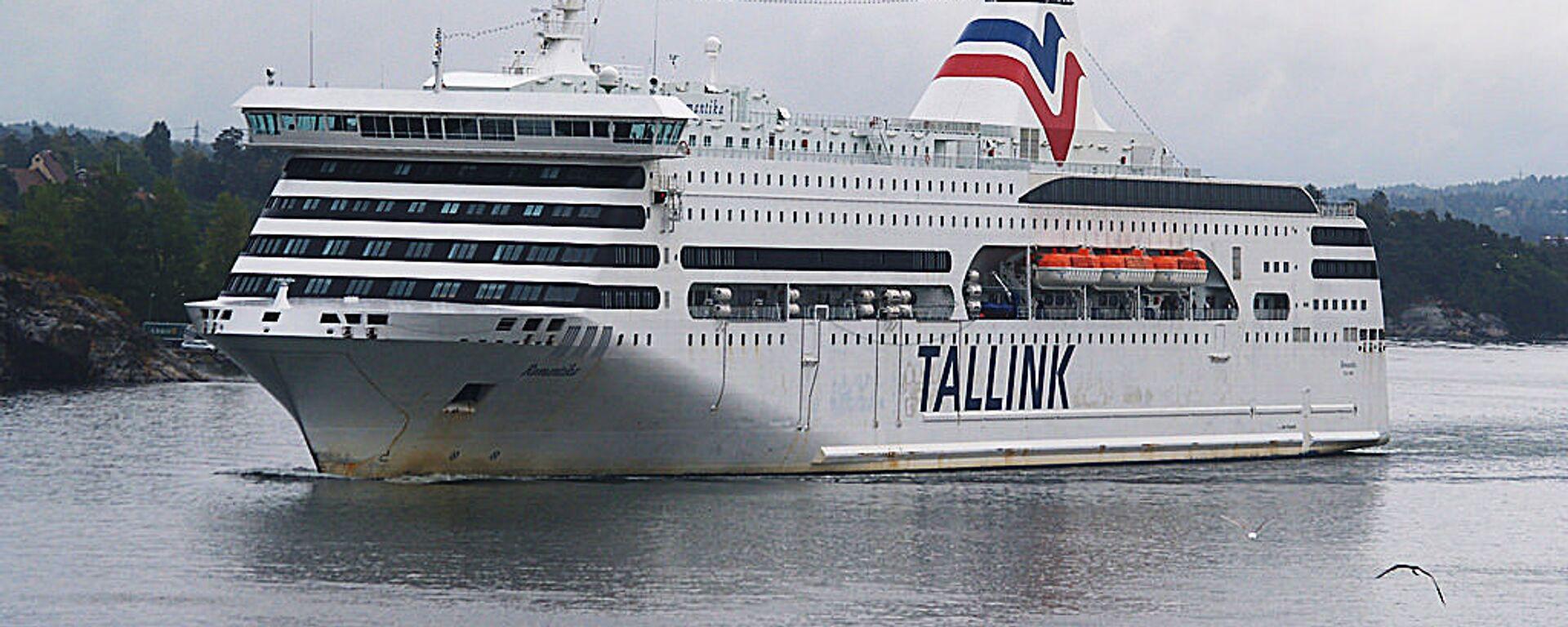 Пассажирский лайнер Таллинк  - Sputnik Латвия, 1920, 01.06.2021