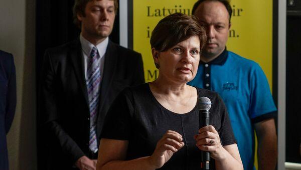 Бывший министр благосостояния Латвии, депутат Сейма Илзе Винькеле - Sputnik Латвия