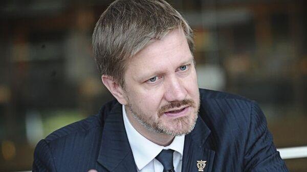 Председатель правления Латвийской торгово-промышленной палаты Янис Эндзиньш - Sputnik Латвия
