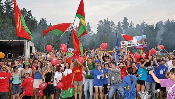 Открытие международного молодежного лагеря Бе-Lа-Русь в Витебской области - Sputnik Латвия