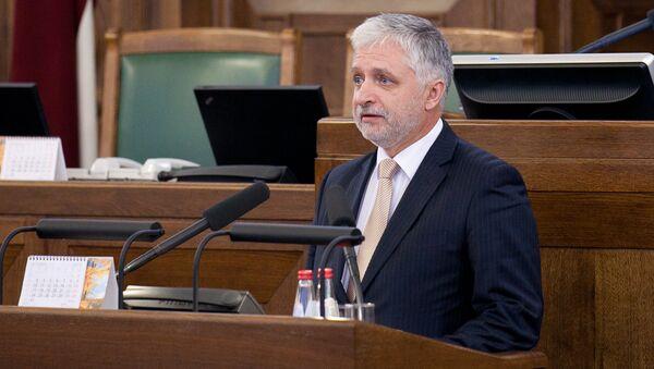 Saeimas deputāts no Zaļo un zemnieku savienības Jānis Vucāns - Sputnik Latvija