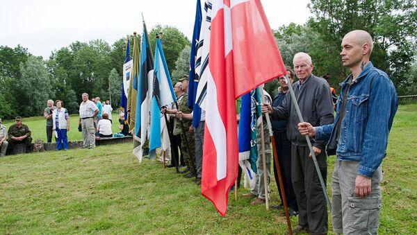 Hitlera karaspēku veterānu salidojums Sīnimē - Sputnik Latvija
