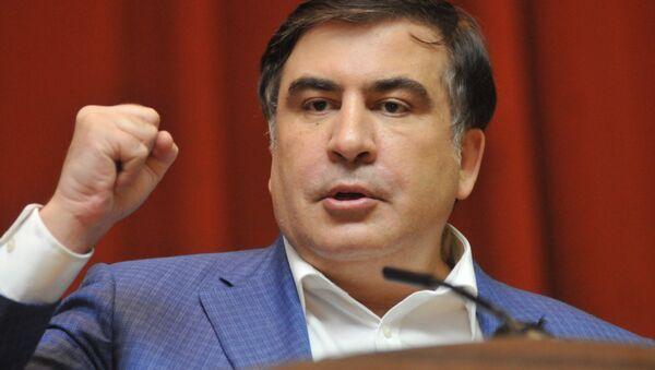Gruzijas bijušais prezidents Mihails Saakašvili - Sputnik Latvija
