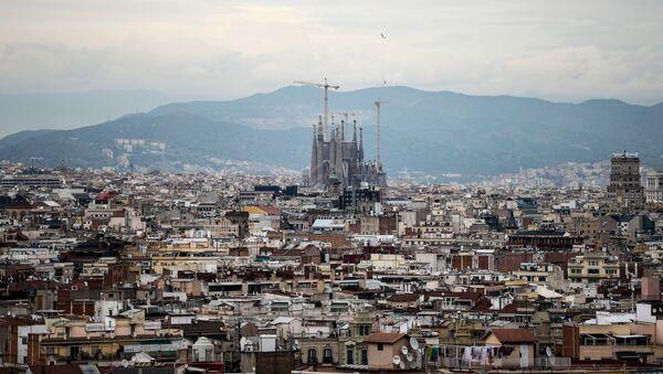 Barselonas ainava. Foto no arhīva - Sputnik Latvija