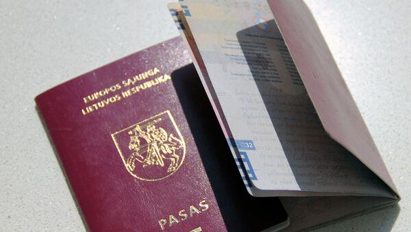 Литовские паспорта - Sputnik Latvija