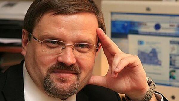 Профессор Академии военных наук, эксперт ПИР-центра Вадим Козюлин - Sputnik Латвия
