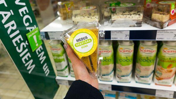 Вегетарианские продукты в сети магазинов Maxima в Латвии - Sputnik Латвия