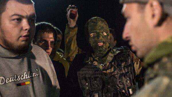 Стритрейсеры на ночных рейдах по поиску банды ГТА - Sputnik Латвия