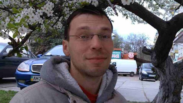 Блогер-журналист Василий Муравицкий - Sputnik Латвия