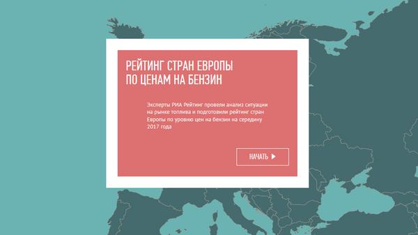 Рейтинг стран Европы по стоимости бензина - Sputnik Латвия
