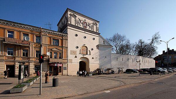 Южный фасад Острой брамы (ворота Аушрос) - Sputnik Латвия