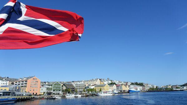 Флаг Норвегии - Sputnik Latvija
