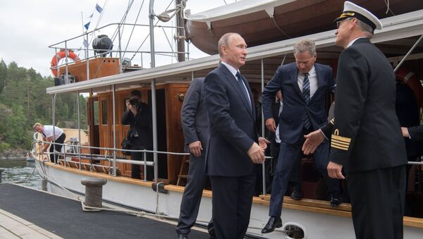 Krievijas prezidenta Vladimira Putina darba vizīte Somijā - Sputnik Latvija