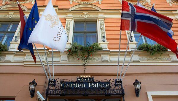 Гостиница Garden Palace в Риге - Sputnik Латвия