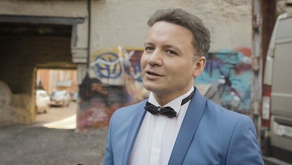 Актер Александр Олешко - Sputnik Латвия