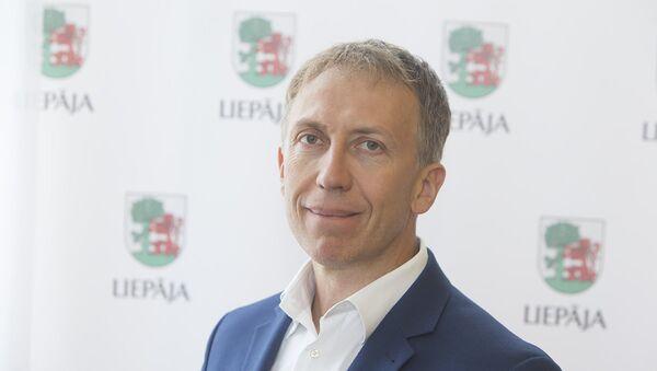 Мэр Лиепаи Янис Вилнитис  - Sputnik Latvija