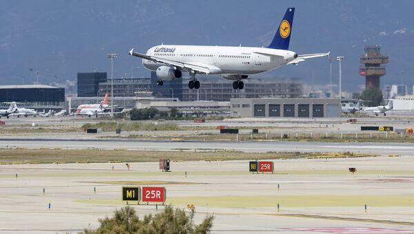 Barselonas lidosta. Foto no arhīva - Sputnik Latvija