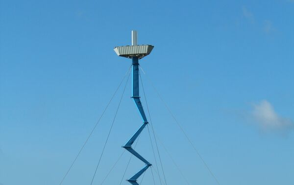 Башня сотовой связи в Domino's Farms - Sputnik Латвия