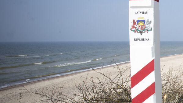 Пляж в Латвии - Sputnik Латвия