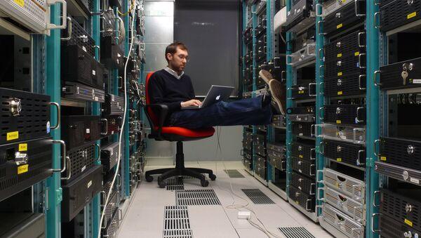 Серверная центра обработки данных - Sputnik Латвия