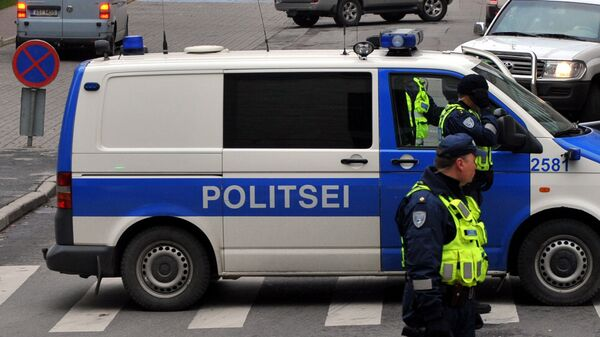 Полиция Эстонии - Sputnik Latvija