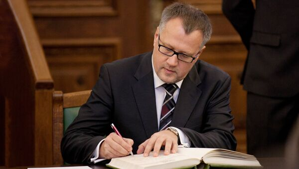 Министр экономики Латвии Арвилс Ашераденс - Sputnik Latvija