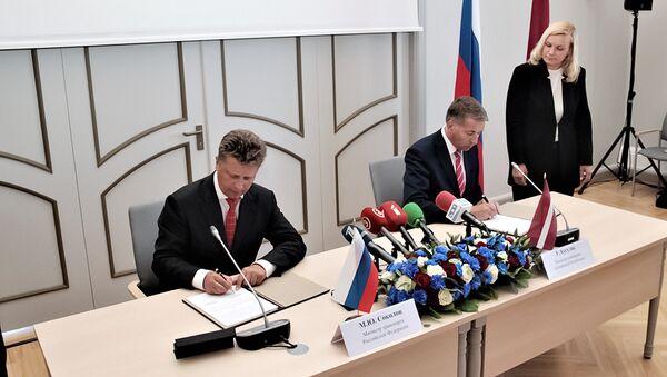 Встреча министров транспорта России и Латвии - Sputnik Латвия