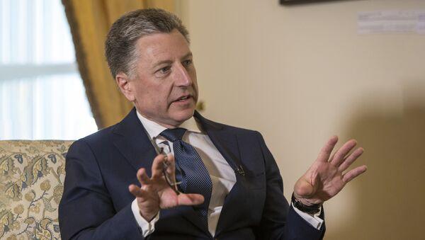 ASV Valsts departamenta speciālais pārstāvis Ukrainas jautājumos Kurts Volkers. Foto no arhīva - Sputnik Latvija