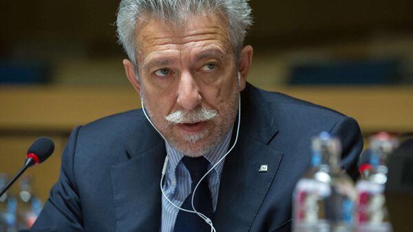 Grieķijas ministrs Stavross Kontons - Sputnik Latvija