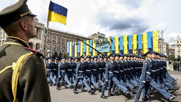 Парад в честь Дня независимости в Киеве - Sputnik Latvija