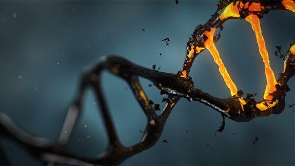 Молекула ДНК - Sputnik Latvija