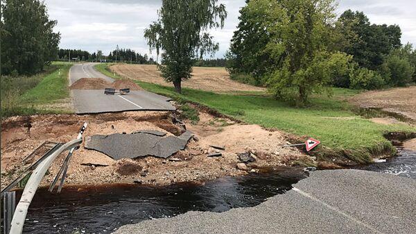 Наводнение в Латгалии - Sputnik Latvija