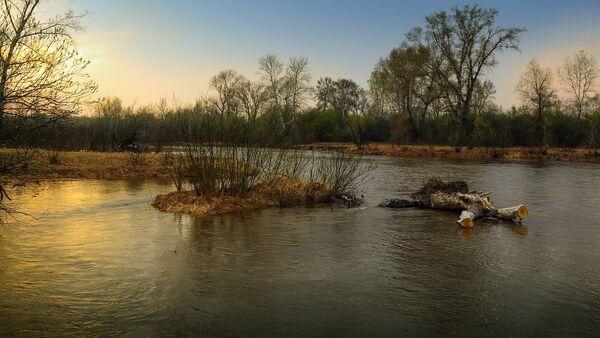 Разлившаяся река - Sputnik Латвия