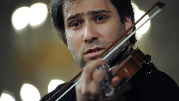 Благотворительный концерт скрипача Дмитрия Когана - Sputnik Латвия