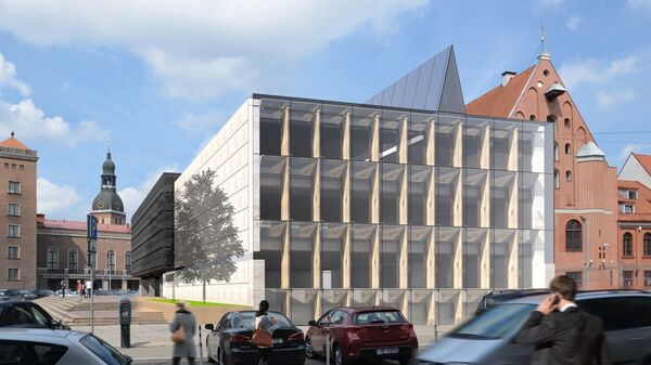 Проект реконструкции музея оккупации в Риге - Sputnik Латвия