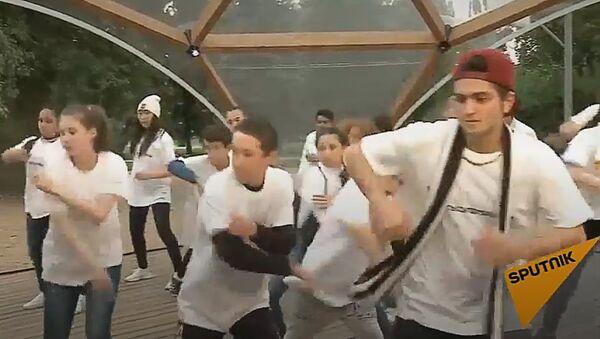 Мастер-класс танцевальной школы TODES для участников шоу Ты супер! Танцы - Sputnik Латвия