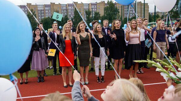 1. septembris Rīgas vidusskolā - Sputnik Latvija