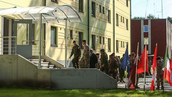 Новые казармы в Адажи для контингента НАТО, архивное фото - Sputnik Латвия