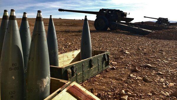 Артиллерийские орудия и боеприпасы - Sputnik Латвия