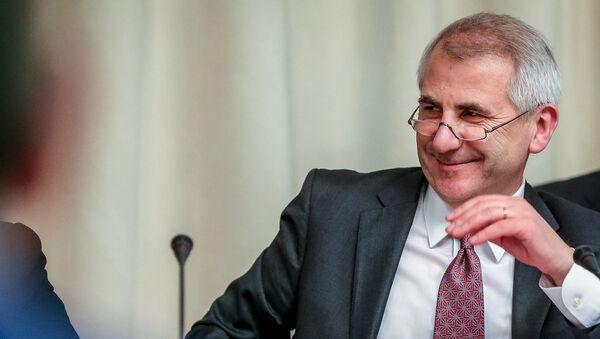 Глава представительства Евросоюза в России Вигаудас Ушацкас - Sputnik Латвия