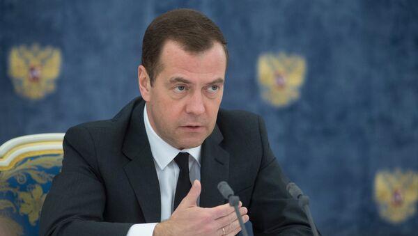 Премьер-министр РФ Д. Медведев - Sputnik Латвия