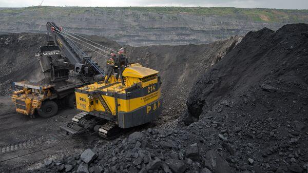 Добыча угля - Sputnik Latvija