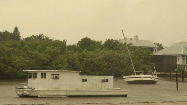 Ураган Ирма обрушился на Флориду - Sputnik Латвия
