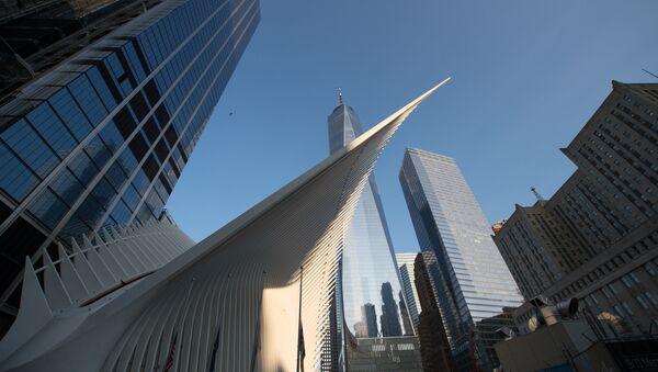 Всемирный торговый центр 11 сентября 2017 года в Нью-Йорке - Sputnik Латвия