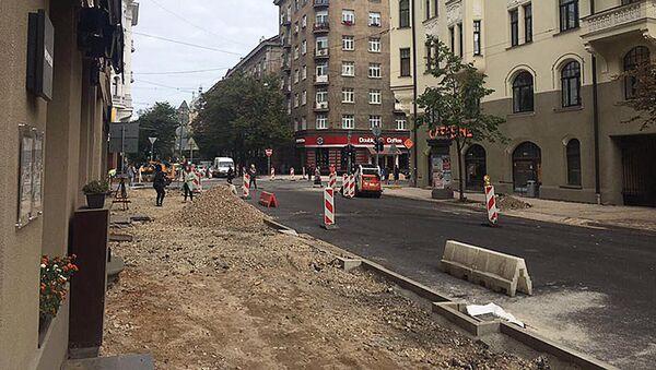 Ielu remontdarbi - Sputnik Latvija