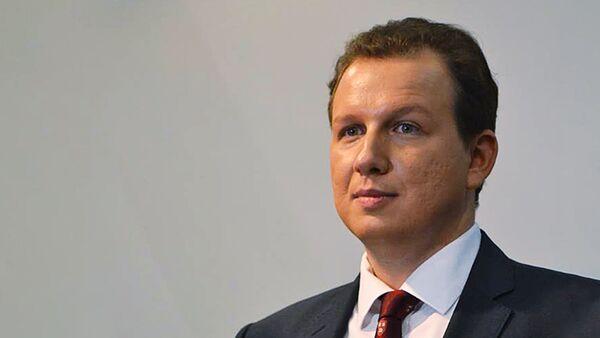 Исполнительный директор Международной мониторинговой организации CIS-EMO Станислав Бышок - Sputnik Latvija