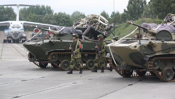 Подразделения ПВО Западного военного округа во время учений Запад-2017 - Sputnik Latvija