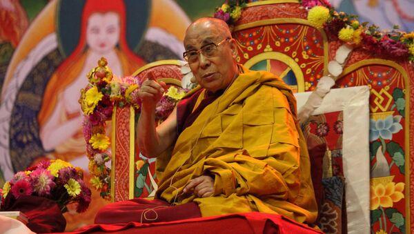 Далай-лама в Риге, 2016 год - Sputnik Латвия