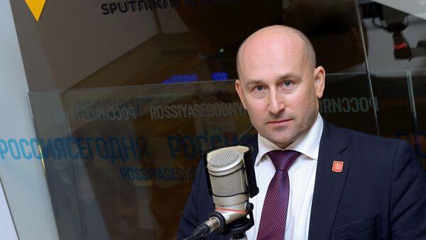 Писатель и публицист, лидер Партии Великое Отечество Николай Стариков - Sputnik Латвия
